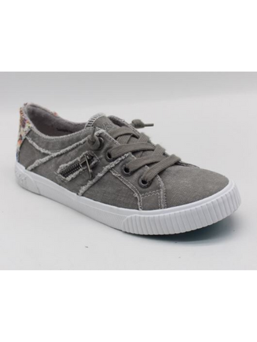 Blowfish Wolf Gray Fruit Lace Up Sneakers