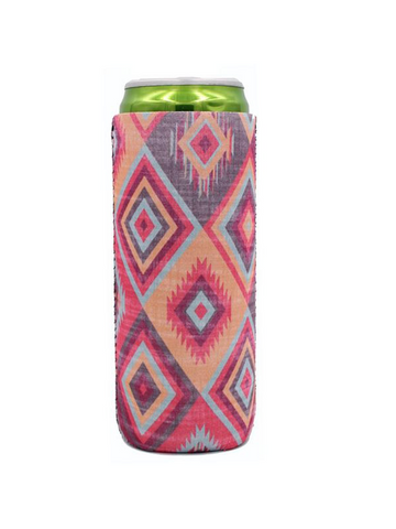 Aztec Slim Can Cooler