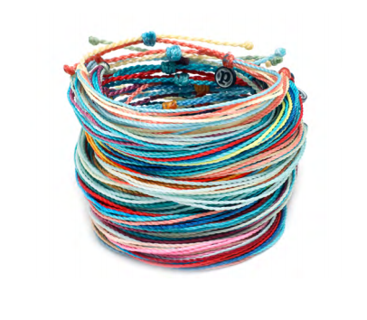 The Original Pura Vida Bracelet-Spring Bright Multi