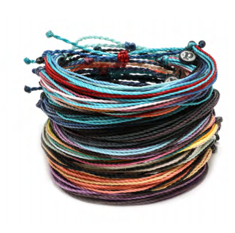 The Original Pura Vida Bracelet-Spring Muted Multi