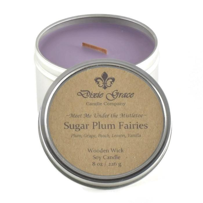 Sugar Plum Fairies Candle