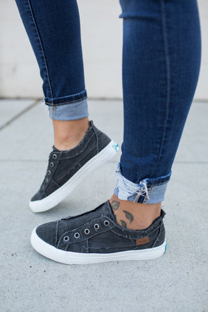 blowfish smoked black play sneakers