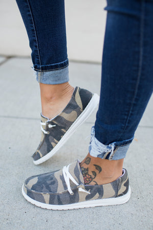 Very G Gypsy Jazz Hooray Sneakers - Camo