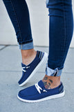 Very G Gypsy Jazz Poppy Sneakers - Navy