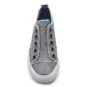 Blowfish Light Gray Slip On Sneakers