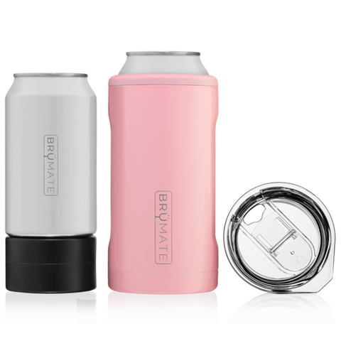 BruMate Hopsulator TRiO 3-IN-1 - Blush Pink