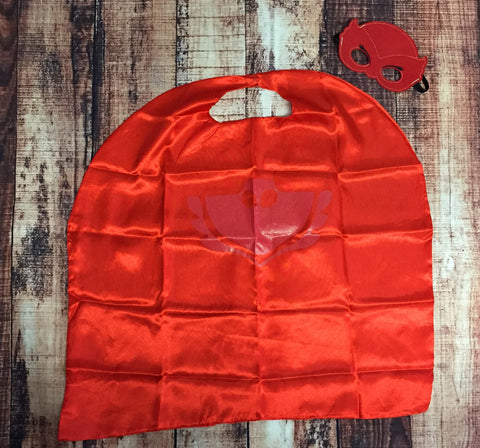 Owlette PJ Masks Mask & Cape Set