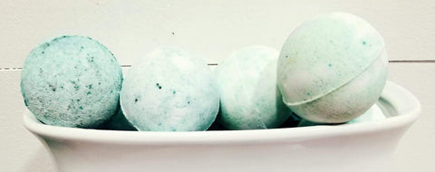 Coconut Lime Verbena Bath Bombs