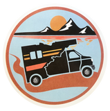 explore idaho rv sticker