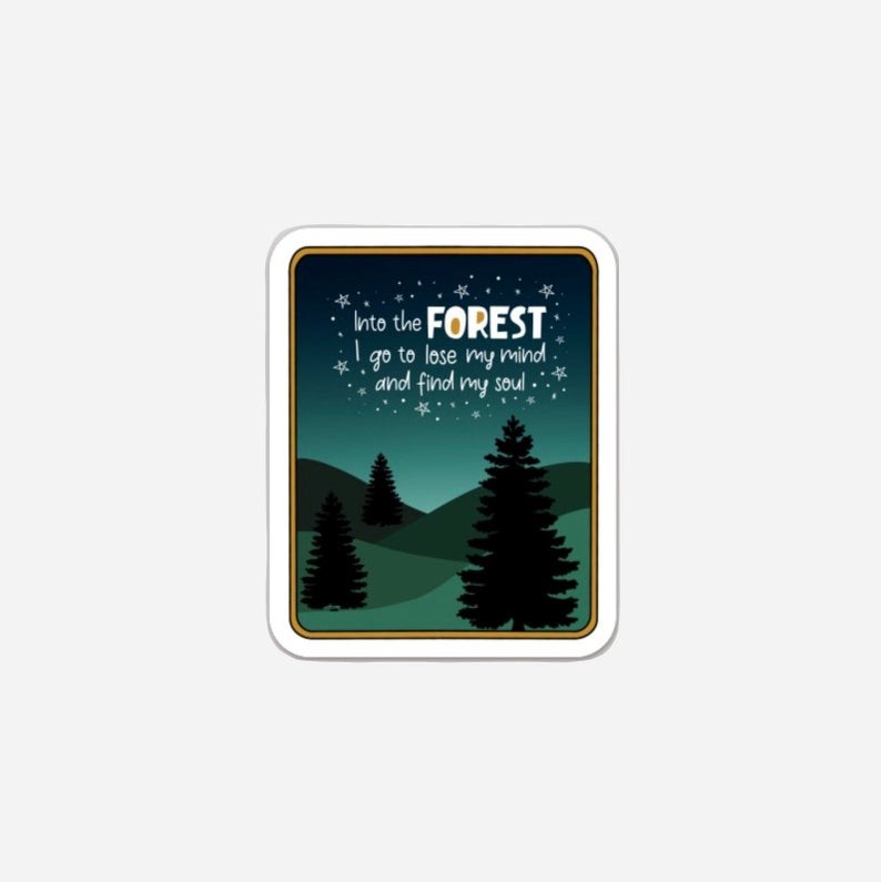 Into The Forest Sticker