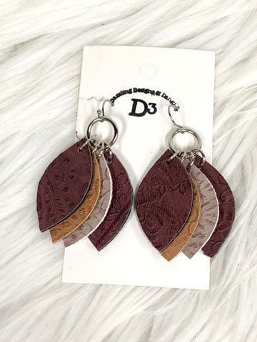 Quad Layered Dangle Earrings