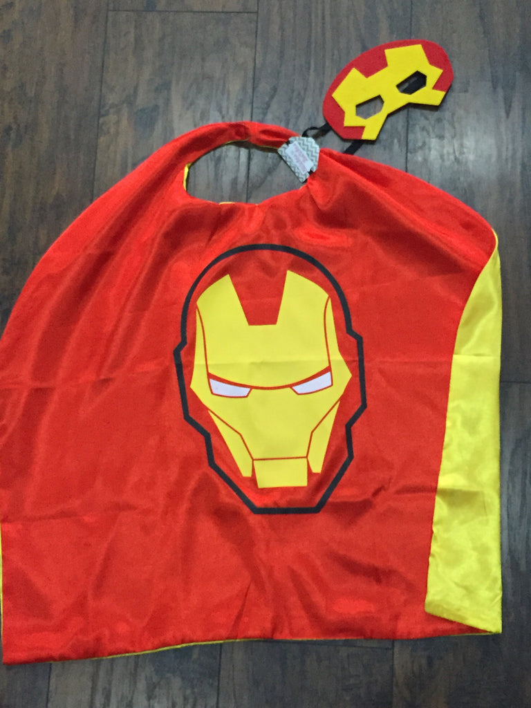 Iron Man Mask & Cape Set