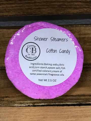 Cotton Candy Shower Steamer