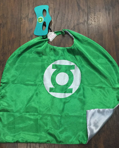 Green Lantern Mask & Cape Set