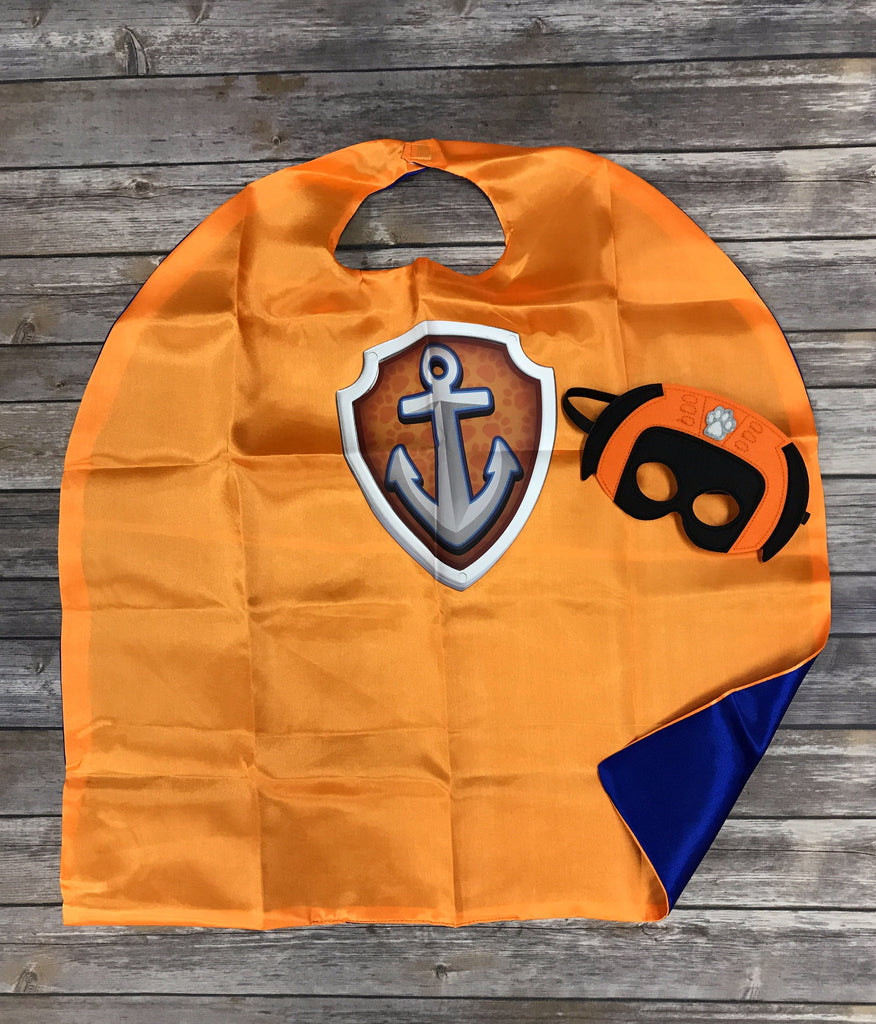 Zuma Shield Paw Patrol Mask & Cape Set