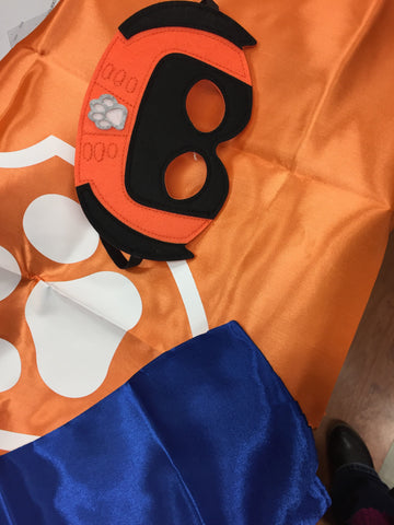 Zuma Paw Patrol Mask & Cape Set