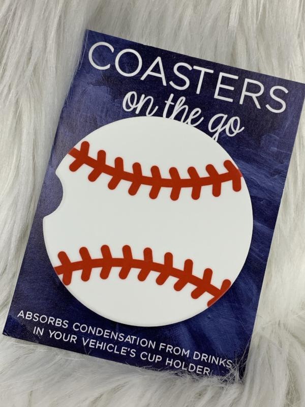 baseball car coaster