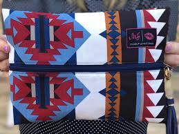 Navajo Makeup Junkie Bag - Small