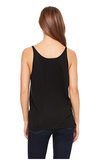 Slouchy Basic Tank - Heather Navy