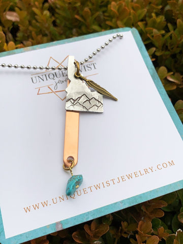 Idaho State of Mind Necklace