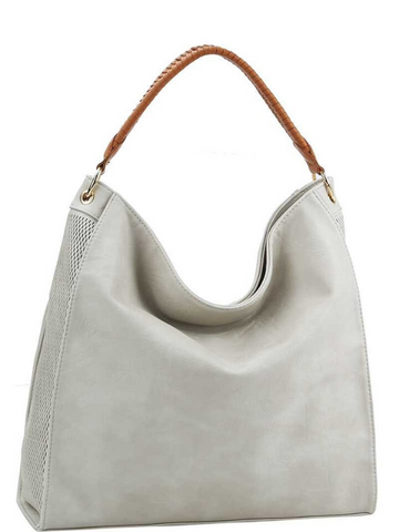 Stone Lasered 2Way Hobo Bag Purse