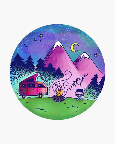 Under The Stars Pura Vida Sticker