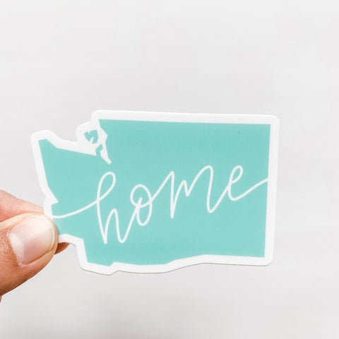 Washington State Mint Home Sticker