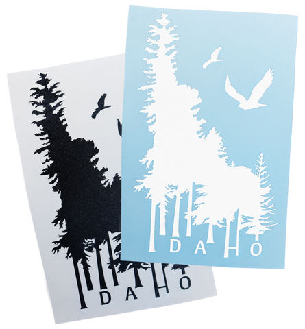 Idaho Wilderness Sticker - 6.5""