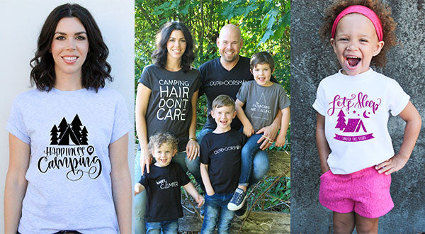 Camping Shirts for the Whole Family | 16 Styles