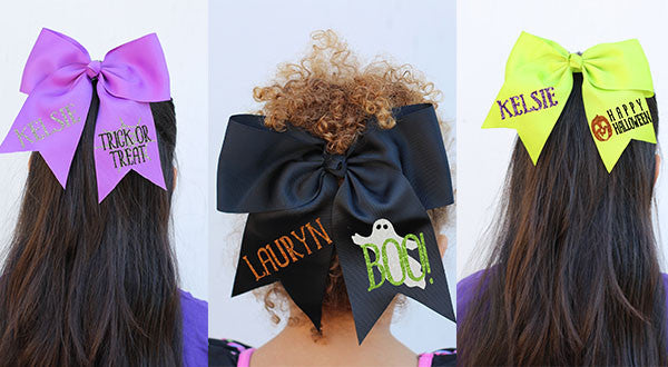 Personalized Halloween Hair Bow
