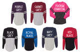 Double Color Customized Pom Pom Jerseys - XS-XL