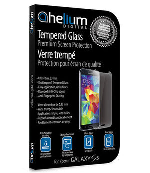 Tempered Glass Screen Protection for Galaxy S5