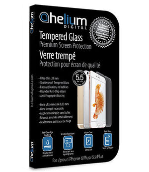 Tempered Glass Screen Protection for iPhone 6/ 6S Plus/ 7 Plus/ 8 Plus
