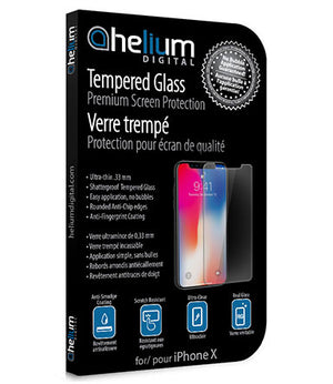 Tempered Glass Screen Protection for iPhone X