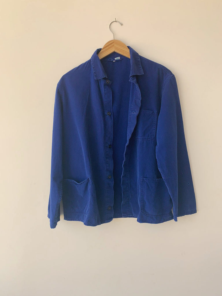 VINTAGE INDIGO WORKMAN JACKET
