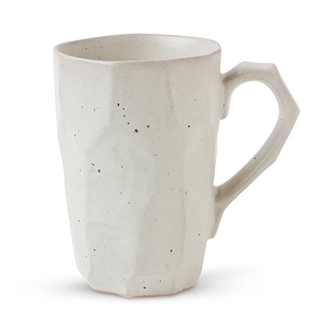 WHITE BOULDER TALL MUG - JP CERAMICS-children-todler-kids-baby-clothing-shopboygirl