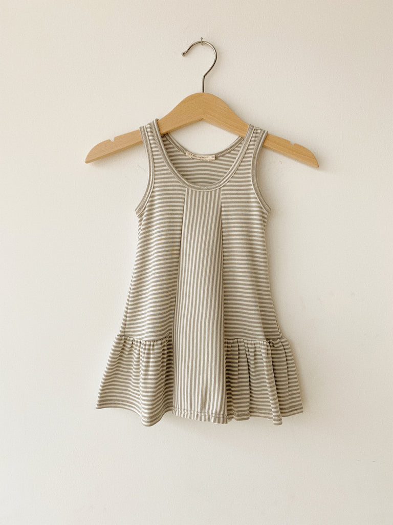 STRIPED TANK DRESS - TANE ORGANICS