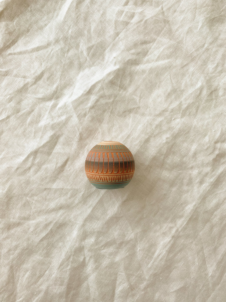 MINI SPHERE POTTERY - NAVAJO