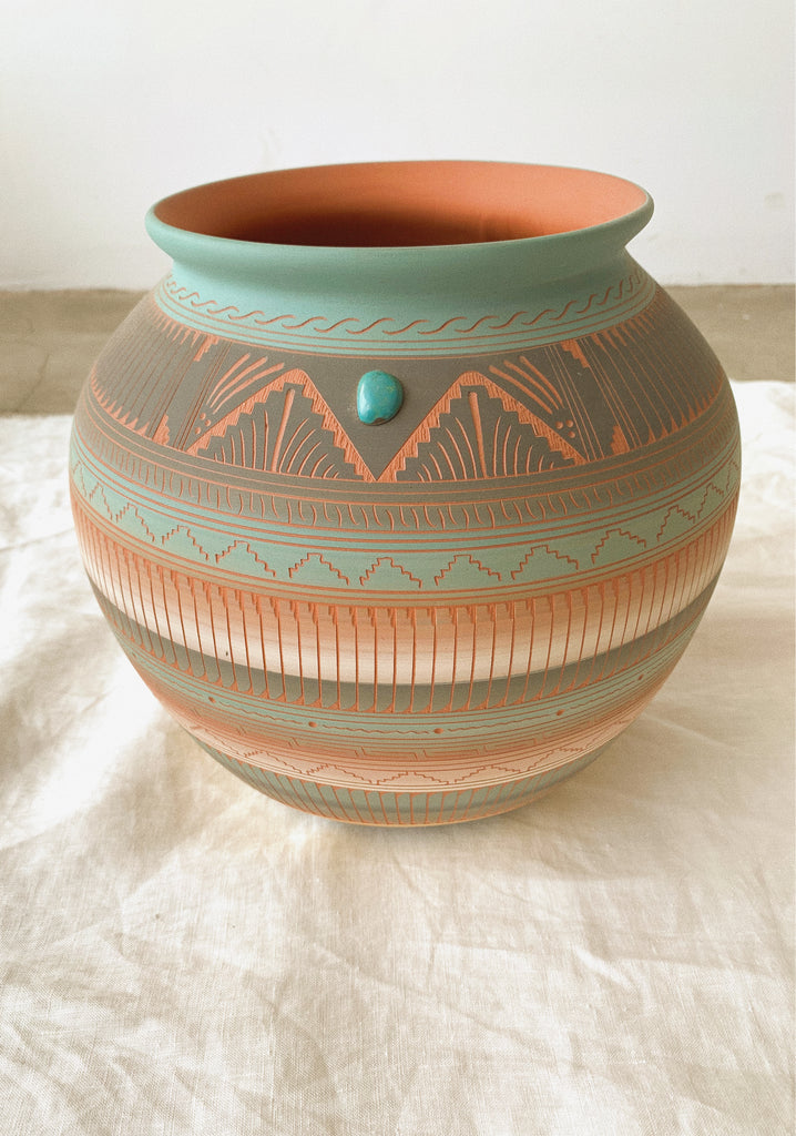 LARGE VASE POTTERY - NAVAJO-children-todler-kids-baby-clothing-shopboygirl