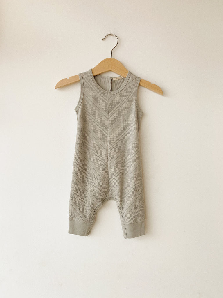 S/LESS CHEVRON COVERALL - TANE ORGANICS-children-todler-kids-baby-clothing-shopboygirl