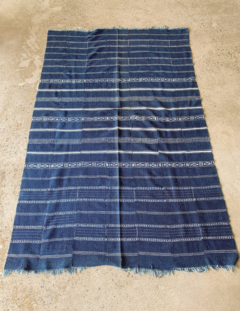 DARK BLUE - INDIGO THROW-children-todler-kids-baby-clothing-shopboygirl