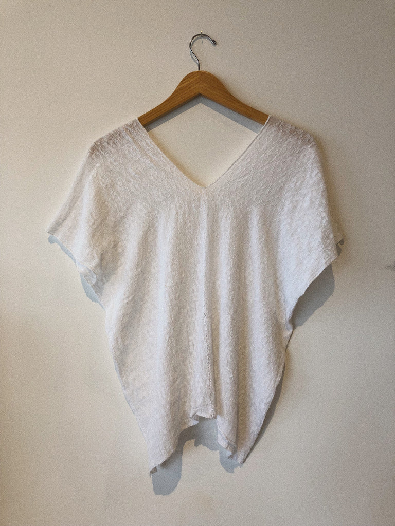 WOMENS V-NECK BLOUSE - GUAT CO-OP