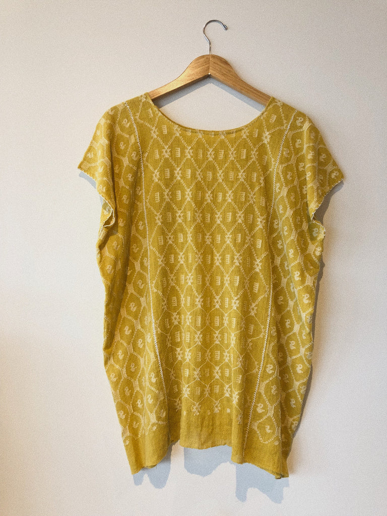 WOMENS ROUND NECK BLOUSE - GUAT CO-OP