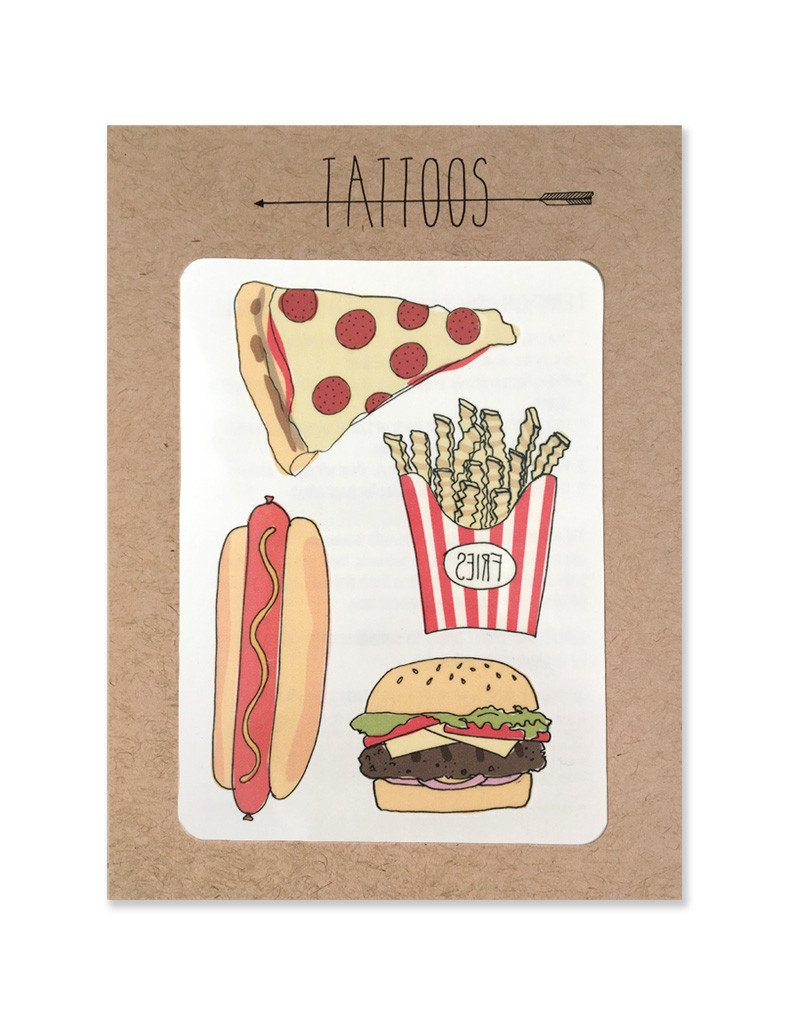 TEMPORARY TATTOO - PIZZA-children-todler-kids-baby-clothing-shopboygirl