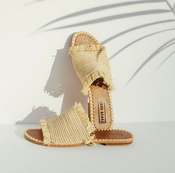 NATURAL SANDAL - RAFFIA SLIDE-children-todler-kids-baby-clothing-shopboygirl