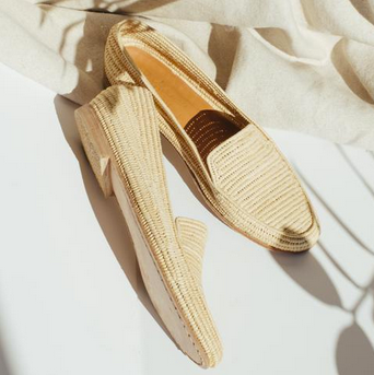 NATURAL LOAFER - RAFFIA SHOE-children-todler-kids-baby-clothing-shopboygirl