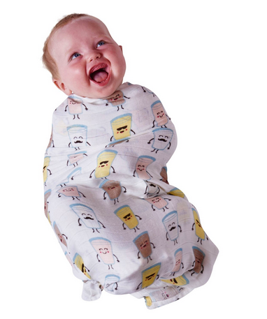 BAMBOO BABY SWADDLE - MILKSHAKE-children-todler-kids-baby-clothing-shopboygirl