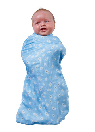 BAMBOO BABY SWADDLE - LAZY DAISY-children-todler-kids-baby-clothing-shopboygirl