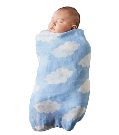 BAMBOO BABY SWADDLE - CLOUDY DAYS-children-todler-kids-baby-clothing-shopboygirl
