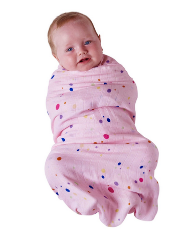 BAMBOO BABY SWADDLE - BUBBLES-children-todler-kids-baby-clothing-shopboygirl